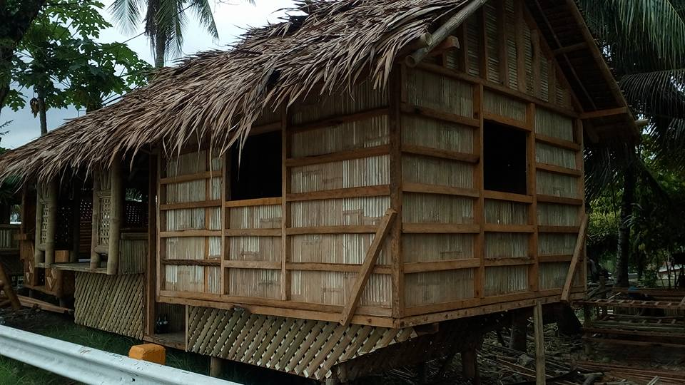 Nipa Hut Design In The Philippines Cebu Image Lifestyle