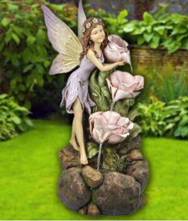 fairy outdorr water fountain