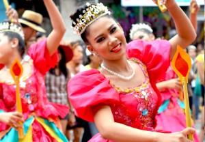 sinulog dancer