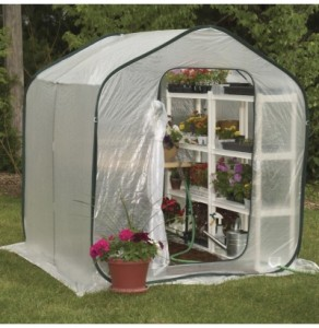 Flowerhouse pop up greenhouse