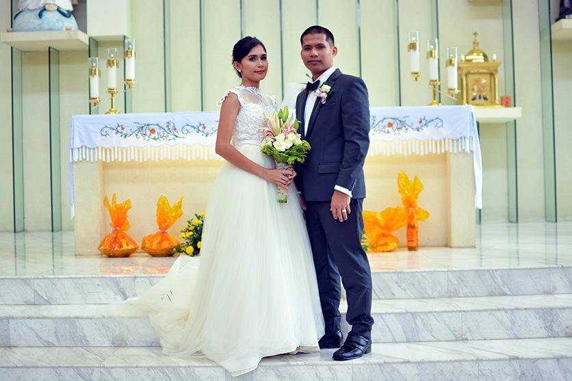 San Pedro Calungsod wedding reception