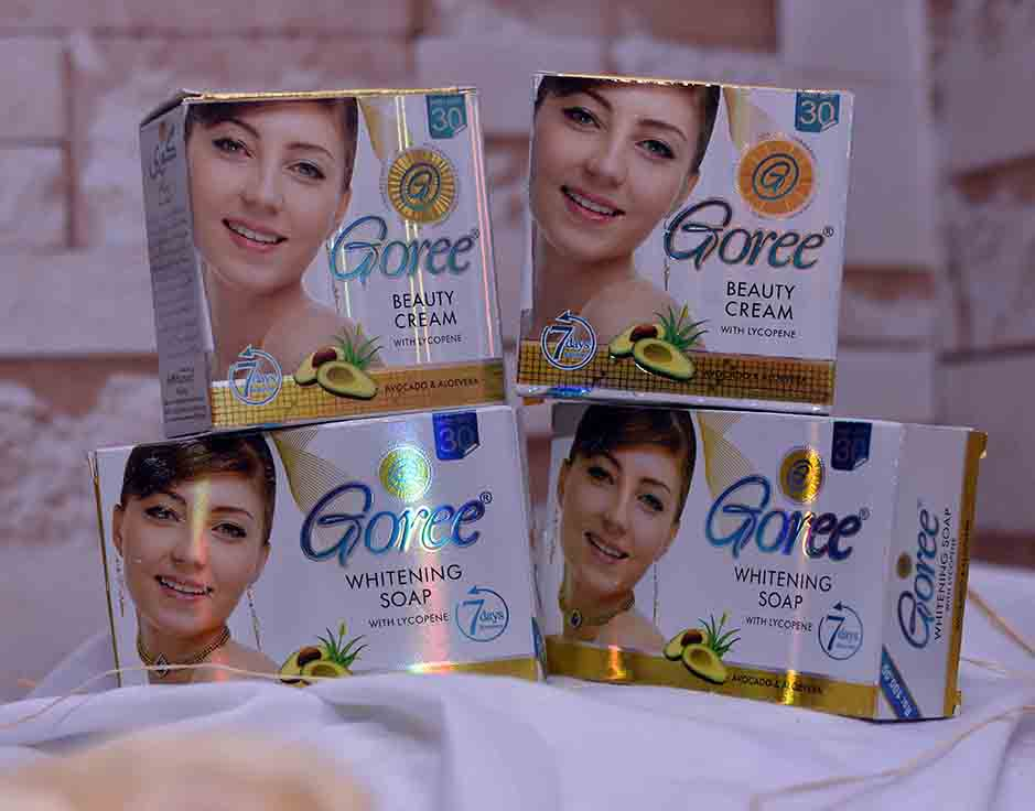 Goree Whitening Cream and Soap Set Cebu